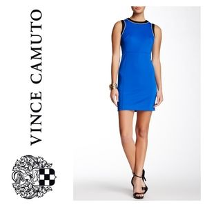 Two by Vince Camuto Color Block Azure Sky NWT sz 4